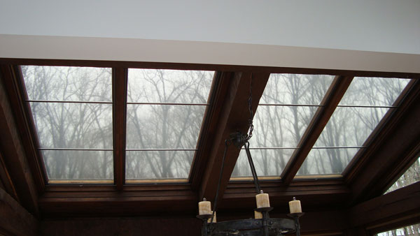 Low-e Shades work for skylights too
