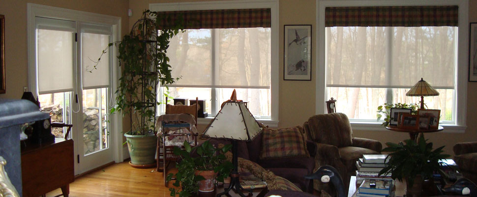 Living room windows by Solarize Window Insulators of Arundel ME